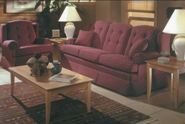 Traditional Skirted Sofa Collection