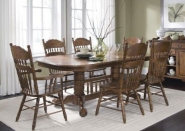 Old World 7pc. Pedestal Dining Set