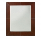 Saratoga Leather Frame Mirror